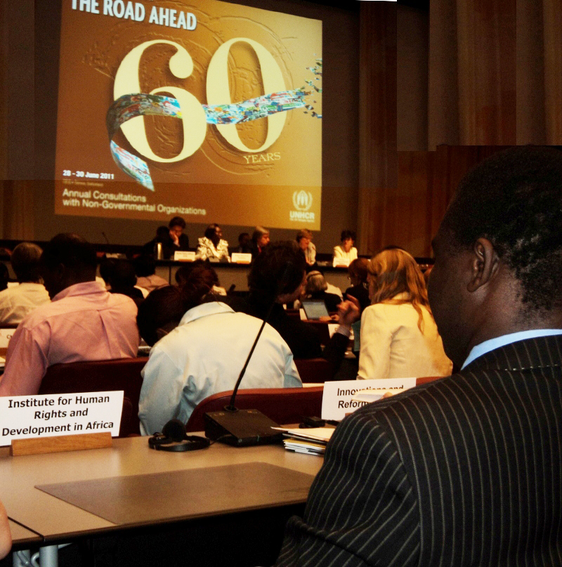 IHRDA attends UNHCR Annual NGO Consultations
