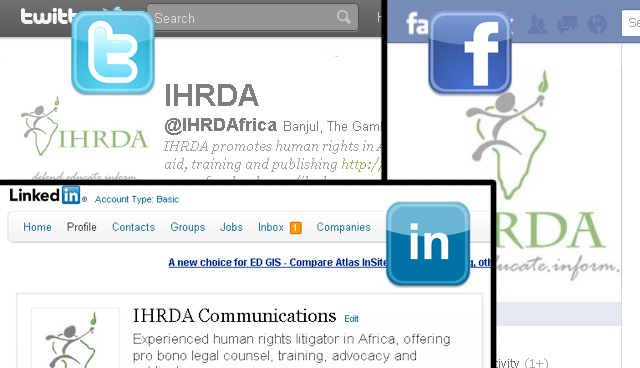 Follow IHRDA social media updates on 51st African Commission Ordinary Session