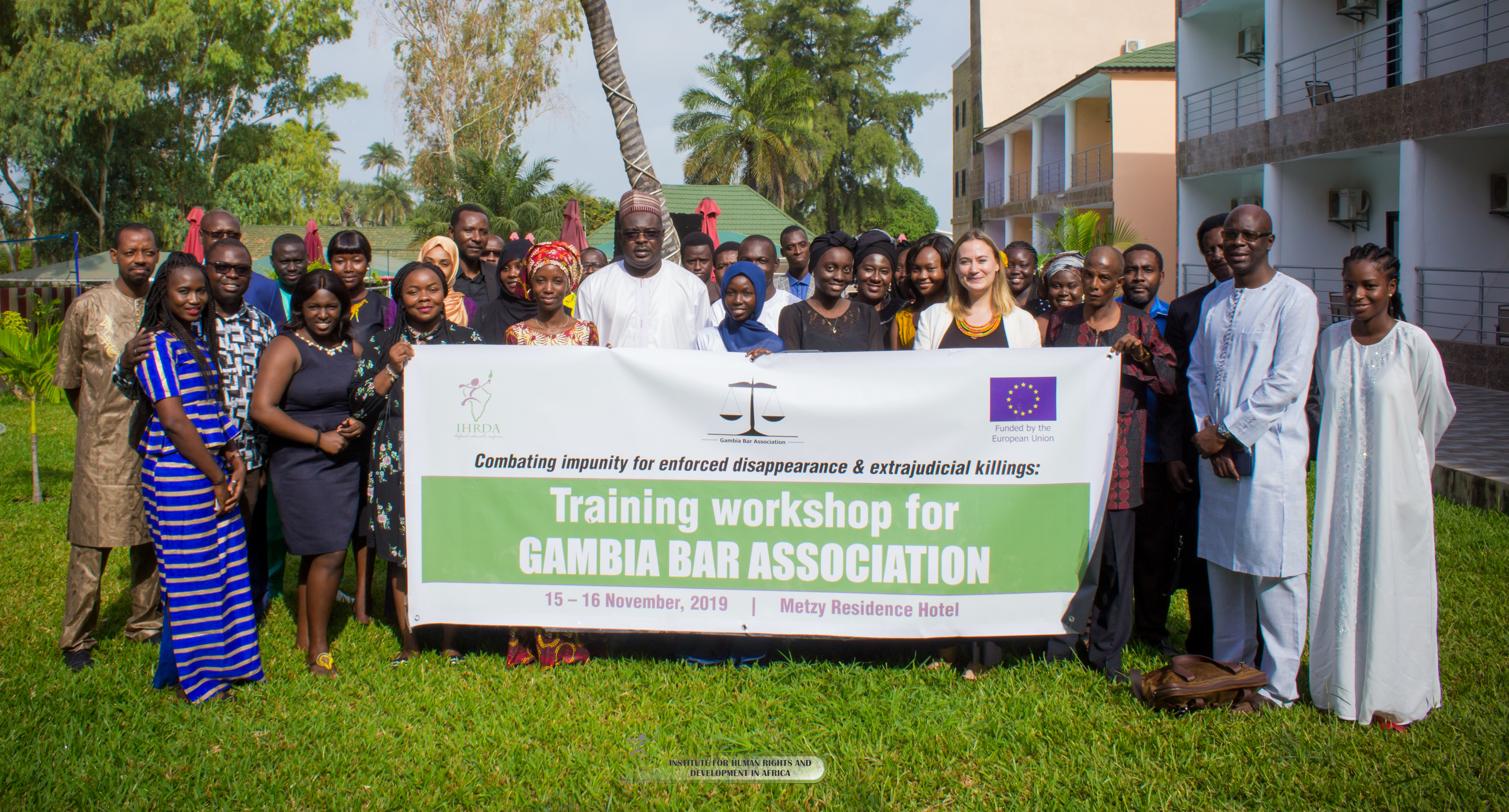 IHRDA, Gambia Bar train lawyers on combating impunity for enforced disappearance, extrajudicial killings