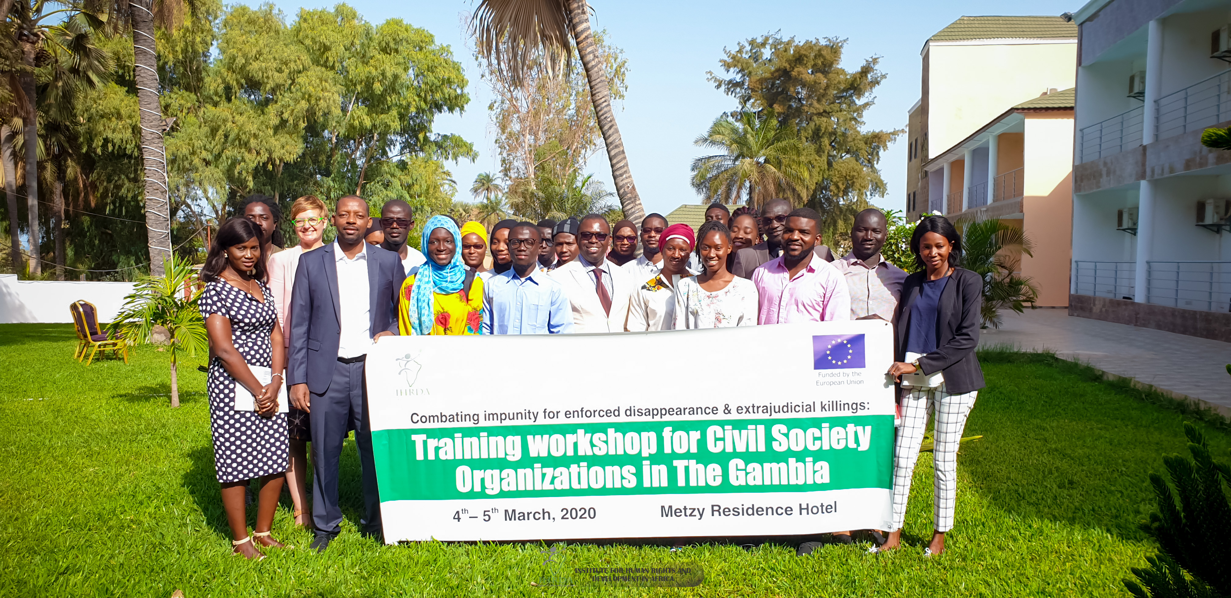IHRDA, TANGO train Gambia CSOs on combating impunity for enforced disappearance, extrajudicial killings