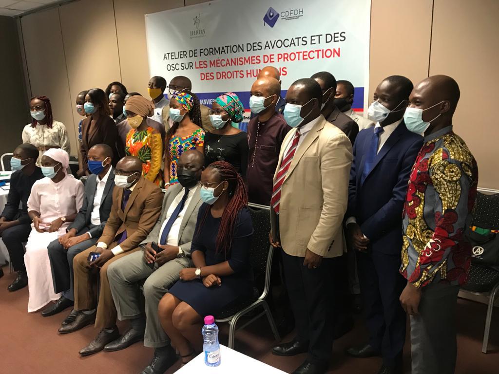 Le contentieux stratégique en droits de l'homme : IHRDA et CDFDH organisent un atelier de formation et d'identification des cas de violation des droits humains à l'endroit des OSC et avocats togolais