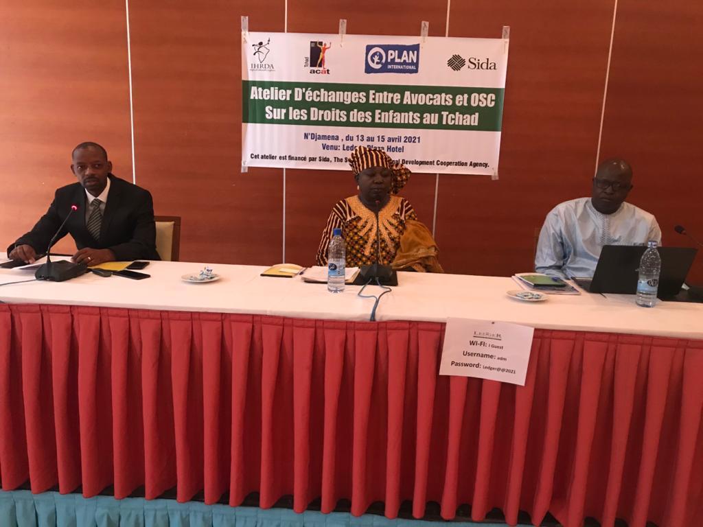 IHRDA organizes child rights strategic litigation workshop for Chad lawyers, CSOs