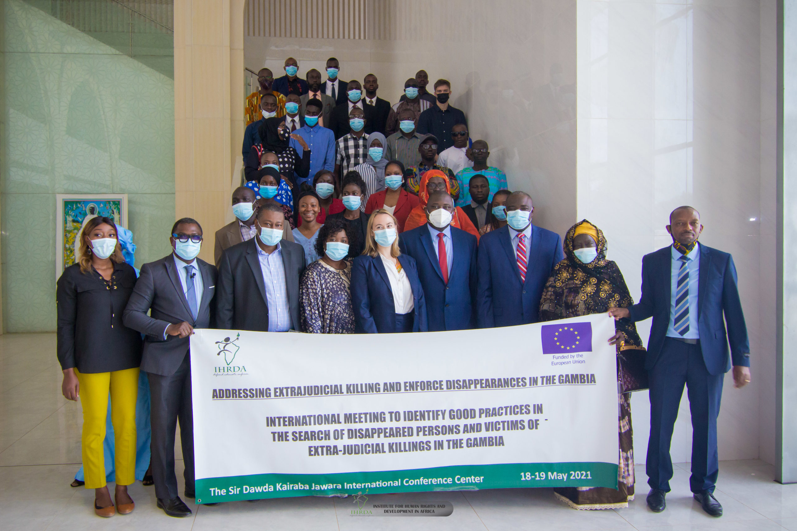 Searching for victims of enforced disappearances, extra-judicial killings: IHRDA organizes conference on application of international guiding principles in The Gambia