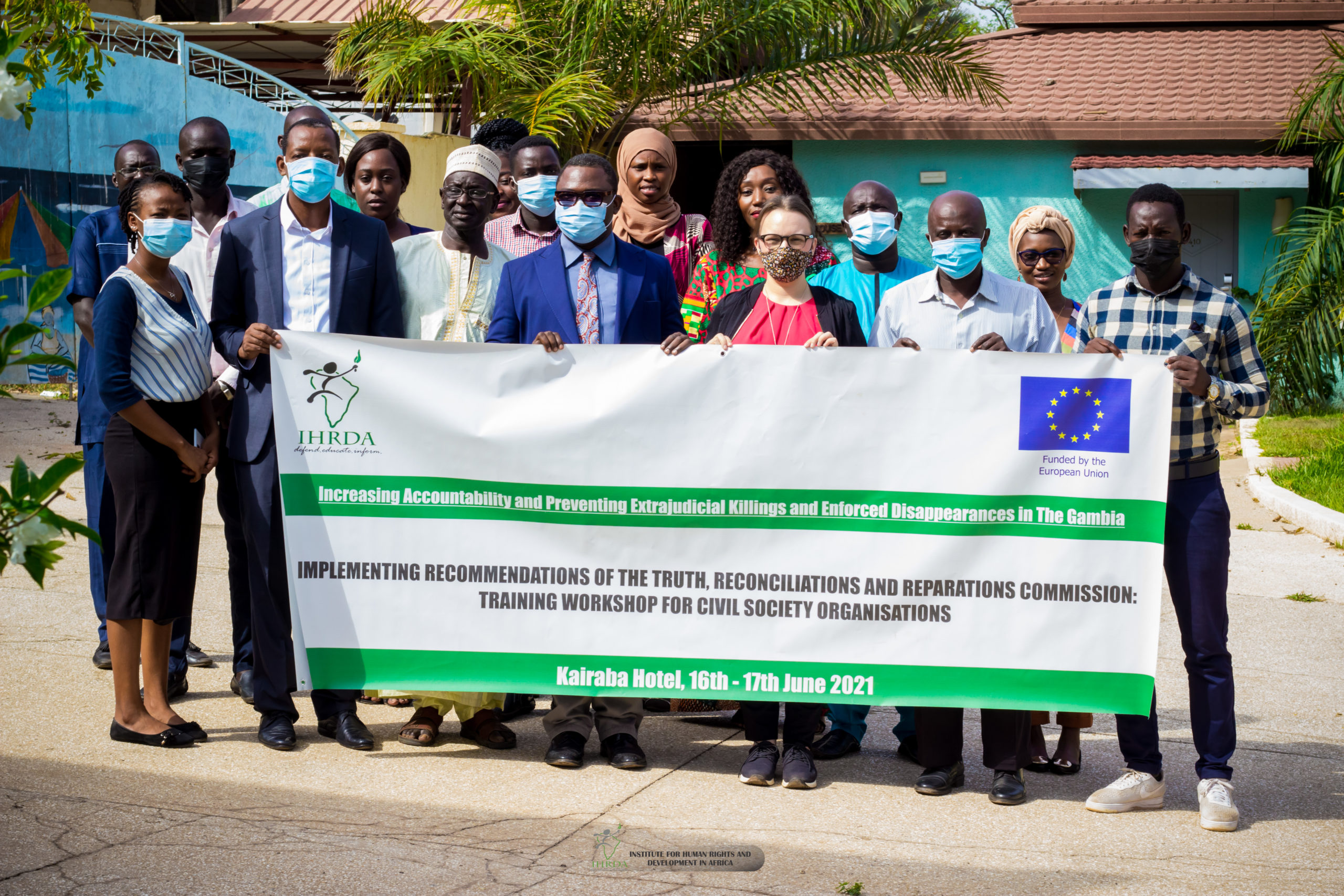 Combatting impunity for enforced disappearance, extrajudicial killings in The Gambia: IHRDA trains Gambia CSOs on implementation of TRRC recommendations