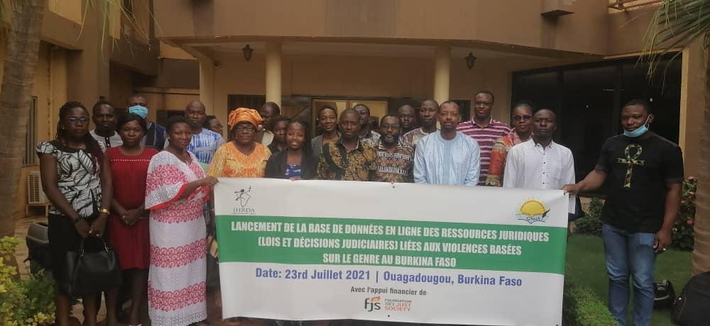 IHRDA, GRASH launch database of SGBV legal resources in Burkina Faso