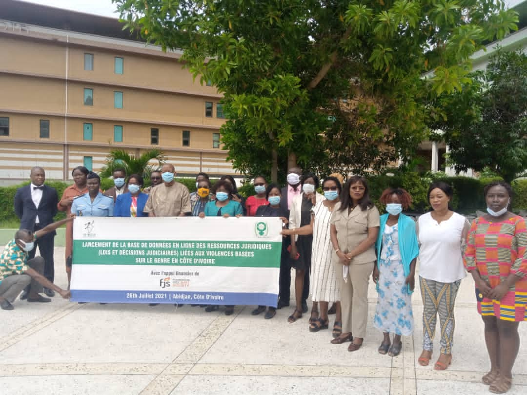 IHRDA, AFJCI launch database of SGBV legal resources in Côte d'Ivoire