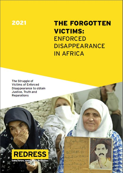 REDRESS Report on Enforced Disappearance in Africa